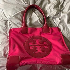 Pink Tory Burch Tote Bag
